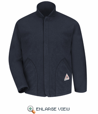 LML6NV Fleece-Sleeved Modacrylic Navy Jacket Liner