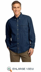 Long Sleeve Value Denim Shirt. SM-SP10