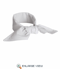 NP12WH White Chef Neckerchief