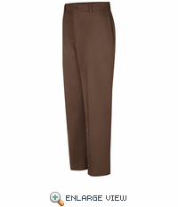 PC20BN Men's Brown Cotton Work Pant