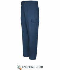 PC76NV Cotton Navy Cargo Pants