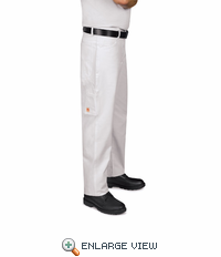 PC80WH Painter's White Dungaree Pant