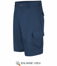 PC86NV Men's Navy Cotton Cargo Short