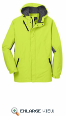 Port Authority® Charge Green Cascade Waterproof Jacket.  J322