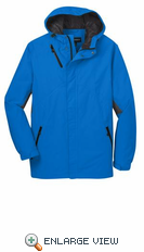 Port Authority® Imperial Blue Cascade Waterproof Jacket.  J322