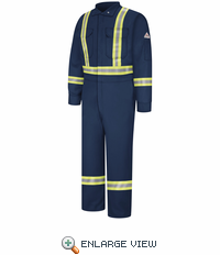 Premium Coverall with CSA Compliant Reflective Trim - EXCEL FR ComforTouch