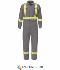 Premium Coverall with Reflective Trim - 7 oz. CoolTouch II