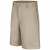 PT26TN Men's Tan Plain Front Shorts
