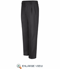 PT32BK Pleated Black Work Pants