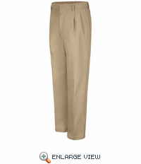 PT32KH Pleated Khaki Work Pants