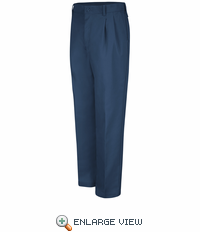 PT32NV Pleated Navy Work Pants