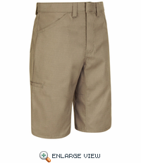 PT4LKH - Men's Khaki Light Weight Crew Short