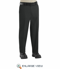PT60BK Men's Black Side-Elastic Insert Pants