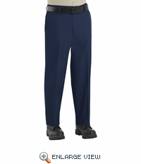 PT60NV Men's Navy Side-Elastic Insert Pants