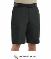 PT66BK Men's Black Cargo Shorts