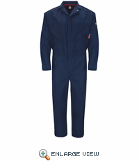QC10NV Premium - iQ Series® Navy Endurance Flame Resistant Coverall