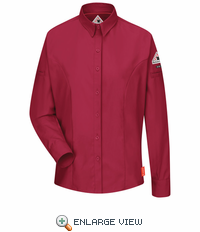 QS31RD iQ Series® Women's Red Long Sleeve Shirt