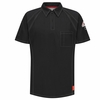 QT10BK iQ Series® Men's Black Short Sleeve Polo