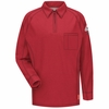 QT12RD iQ Series® Men's Red Long Sleeve Polo