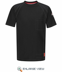 QT30BK iQ Series Black Short Sleeve Tee