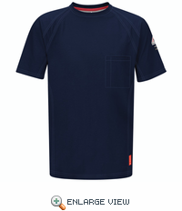 QT30DB iQ Series Dark Blue Short Sleeve Tee