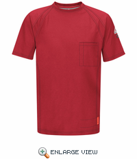 QT30RD iQ Series Red Short Sleeve Tee