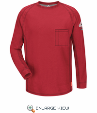 QT32RD iQ Series Red Long Sleeve Tee