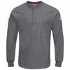 QT40CH iQ Series® Plus Charcaol Long Sleeve Henley