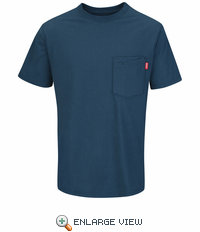 Red Kap Workwear Solid Color T-Shirt - RT30EB