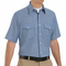 SC24 Short Sleeve Light Blue Western Style Uniform Shirt