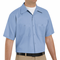 SC40LB Short Sleeve Light Blue Wrinkle Resistant Cotton Shirt