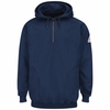 SEH2 EXCEL FR® Flame-resistant Pullover Hooded Fleece Sweatshirt with 1/4 Zip
