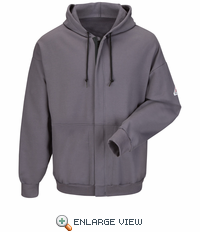 SEH4a Flame-resistant Zip-front Hooded Sweatshirt