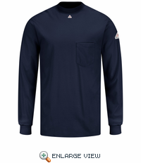 SET2NV - EXCEL FR Long Sleeve T-Shirt Navy T-Shirt