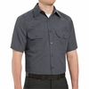 SH20 Short Sleeve Heathered Poplin Shirt (2 Colors)