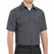 SH20CH Short Sleeve Heathered Charcoal Poplin Shirt
