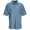 SK28LB Short Sleeve Light Blue Performance Knit® 50/50 Blend Pique Shirt