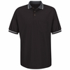 SK50BK Short Sleeve Black Performance Knit Raised Jersey Shirt