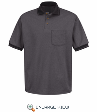 SK52 Short Sleeve Performance Knit Polo Twill Shirt (4 Colors)