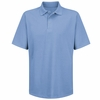 SK58LB Light Blue Specialized Pocketless Performance Knit® 50/50 Blend Solid Shirt