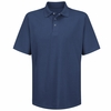 SK58NV Navy Specialized Pocketless Performance Knit® 50/50 Blend Solid Shirt