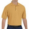 SK72GO Cotton/Polyester Gold Blend Knit Pique Shirt-Pocketless