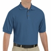 SK72MB Cotton/Polyester Marine Blue Blend Knit Pique Shirt-Pocketless