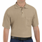 SK82KH Cotton/Polyester Khaki Blend Knit Pique Shirt-With Pocket