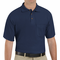 SK82NV Cotton/Polyester Navy Blend Knit Pique Shirt-With Pocket