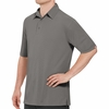 SK90GY Men's Customer Facing Professional Grey Polo