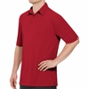 SK90RD Men's Customer Facing Professional Red Polo