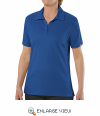 SK91RB Female Customer Facing Professional Royal Blue Polo