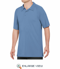 SK92MB Male Active Performance Medium Blue Polo