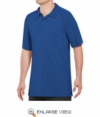 SK92RB Male Active Performance Royal Blue Polo